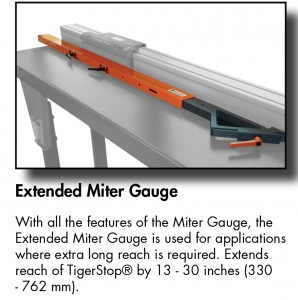 Extended Miter Gauge TS-01