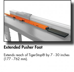Extended Pusher Foot TS-01