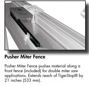 Pusher Miter Fence TS-01